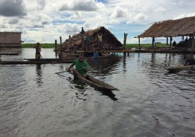 Life on the river, Middle Sepik, Papua New Guinea